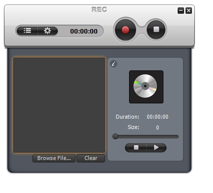 Click to view Auvisoft MP3 Recorder 2.0 screenshot